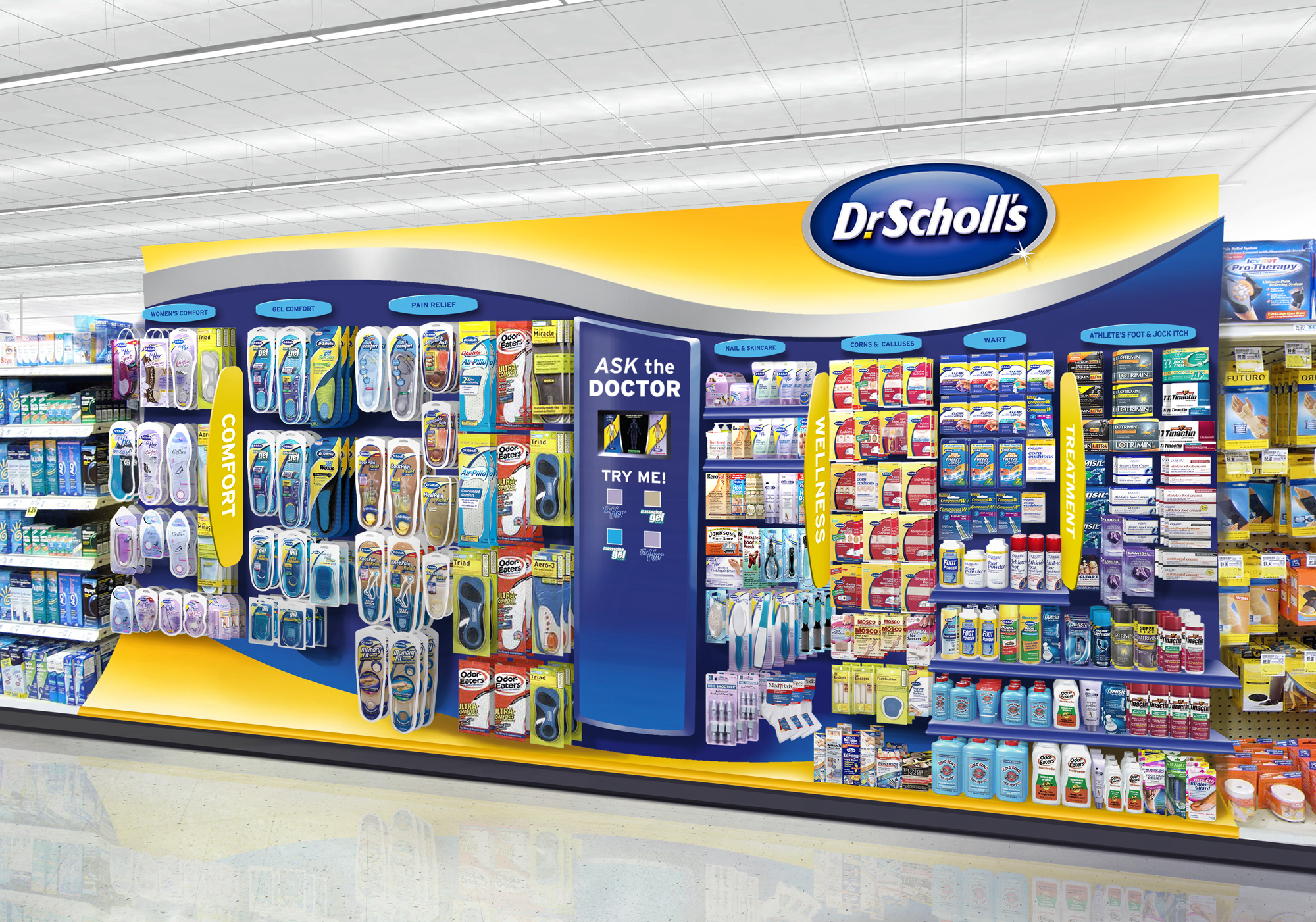 Dave Pinter Dr Scholl S Footcare Category Reinvention