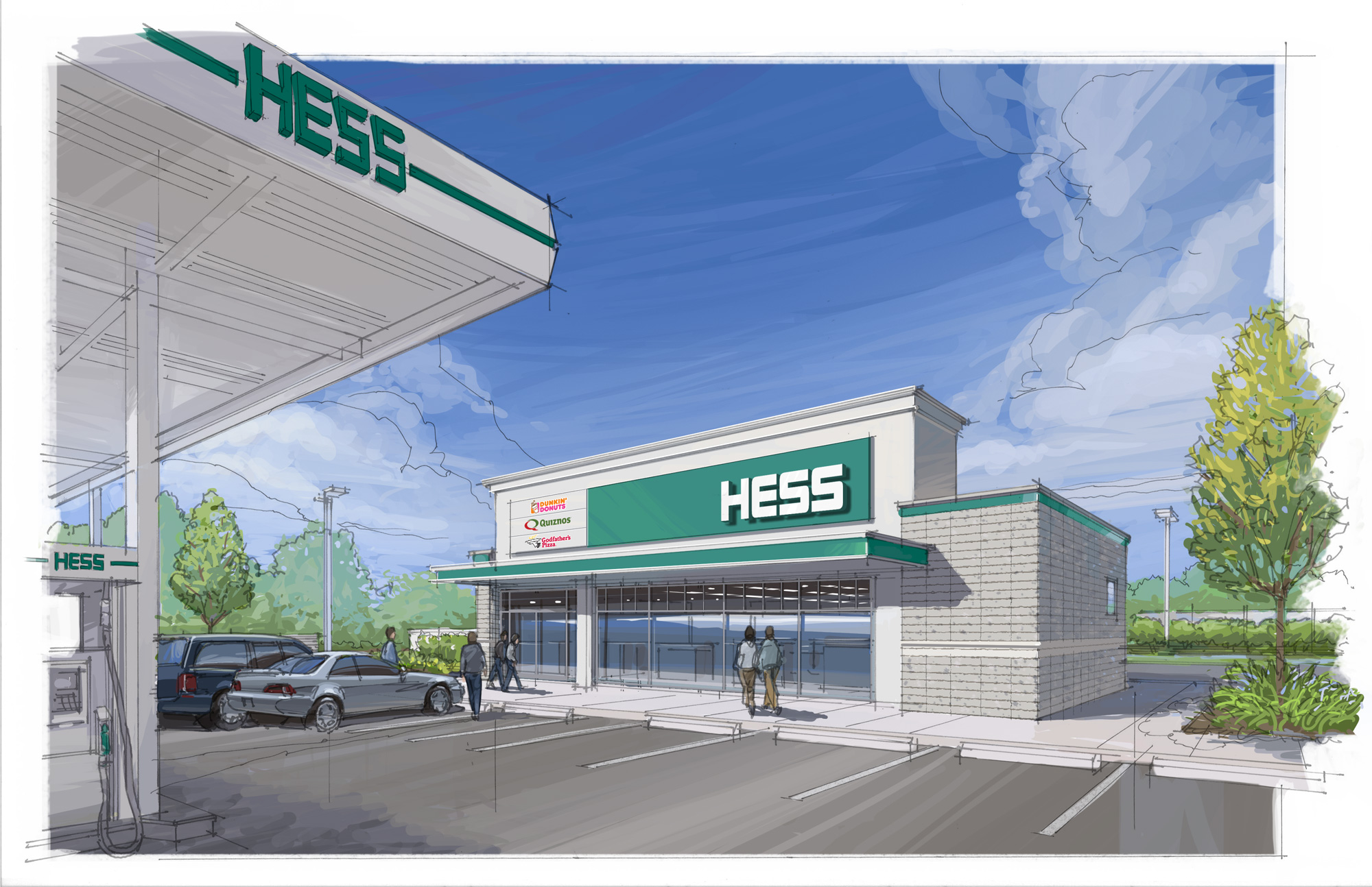 hess prototype convenience store architecture dave pinter